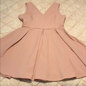 Haute Monde Pleated Dress